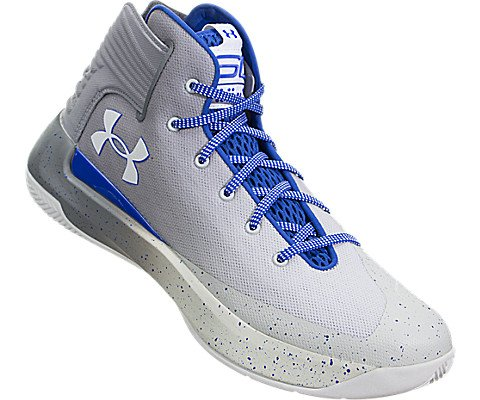 Under Armour Men's Curry 3 Basketball Shoes, Grey, Size 8.5 by Under Armour (Image #4)