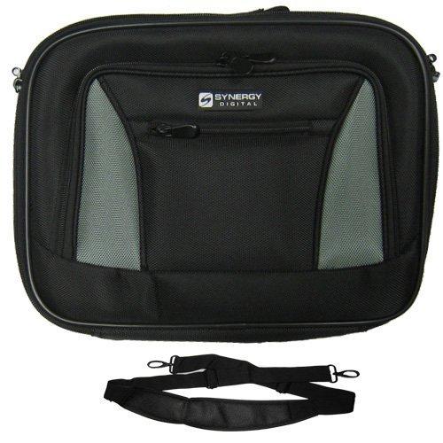 lenovo-ibm-thinkpad-t400-7417-laptop-case-carry-handle-adjustable-shoulder-strap-black-gray-adjustab