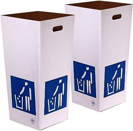 Kartox   Papelera de Cartón de Reciclaje   Automontable   Caja de ...