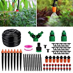 Homga Drip Irrigation Kits       Making your life better & Making effective use of water.                            Why Choose Us       1.Durable Irrigation System-Custom high-quality durable nozzle, tee and pipe, the overall serv...