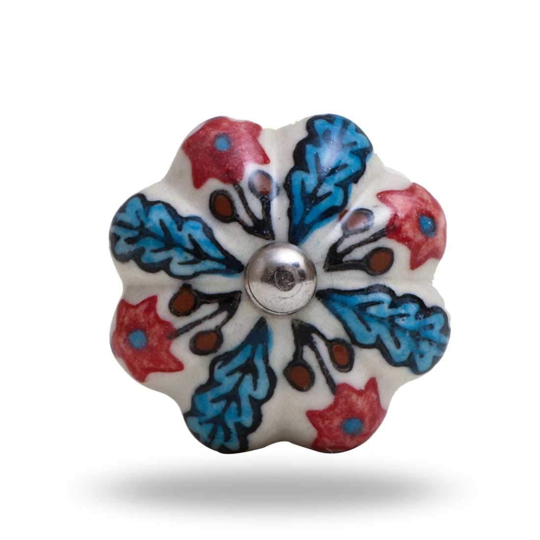 Wickham Ceramic knob Indian Handicrafts Export TCAFRORK00075
