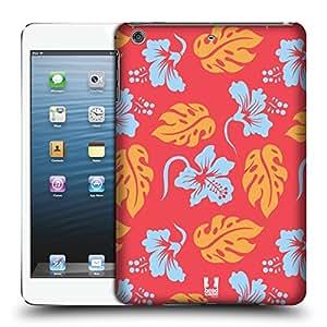 Head Case Designs Coral Modelos Hawaianos Caso Duro Trasero para Apple iPad mini 1 / 2 / 3