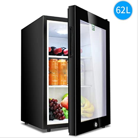LZHILENJI 62L Silencioso Mini refrigerador-Minibar-Bebidas ...