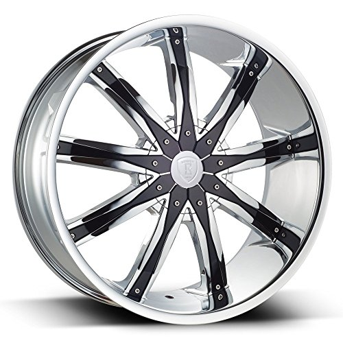 rims 22 inch set of 4 chrome - 6