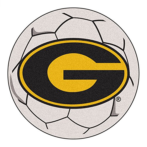 (NCAA Grambling State University Tigers Soccer Ball Mat Round Area Rug)
