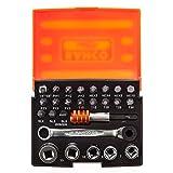 Bahco 2058S26 Ratchet Socket Bit Set 26-Piece
