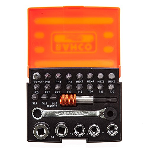 Bahco 2058/S26 Bit-Socket Set (26-piece) ()
