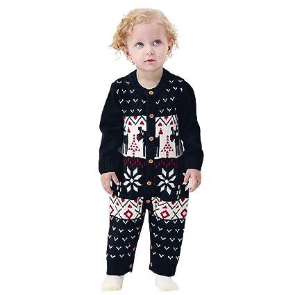Qiusa Ropa Infantil Unisex para bebés y niños pequeños ccb3aa715c3