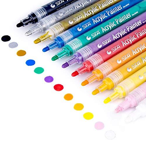 Acrylic Paint Markers Set