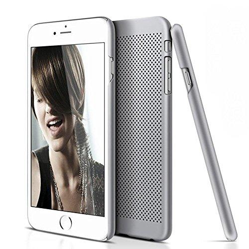 iPhone 6/6s Hülle - VENTER® Schutzhülle mit stylischer Aluminium Rückseite Hülle Hard Cover Back Case Tasche für Apple iPhone 6/6s