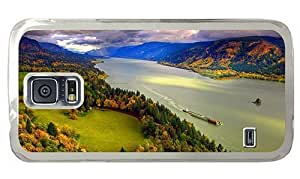 Hipster Samsung Galaxy S5 Case DIY columbia river gorge PC Transparent for Samsung S5 by icecream design