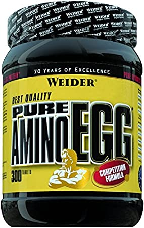 Amazon.com: Weider Nutrition Pure Amino Egg 300 Capsules: Health & Personal Care