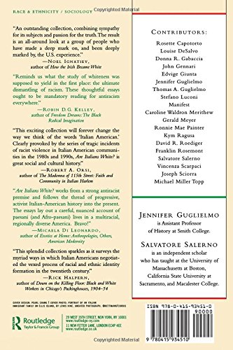 Are Italians White?: How Race is Made in America: Amazon.es: Jennifer Guglielmo, Salvatore Salerno: Libros en idiomas extranjeros