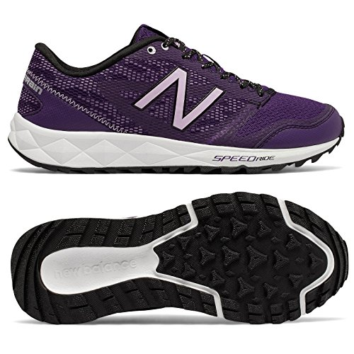 New Balance Women's 590v2 Trail Running Shoes Black Plum/Violet Glow/Arctic Fox/Lime Glow 1OWEACJbyD