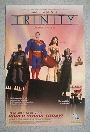 TRINITY Promo Poster, Matt Wagner, 11x17, 2008, Unused, more Promos in store,EA