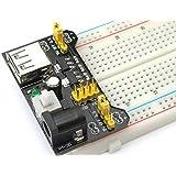 Ecloud Shop® 3.3V / módulo de alimentación de 5V MB102 breadboad para el Arduino proporcionad