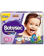 Fraldas descartáveis Babysec Premium Galinha Pintadinha Flexi Protect