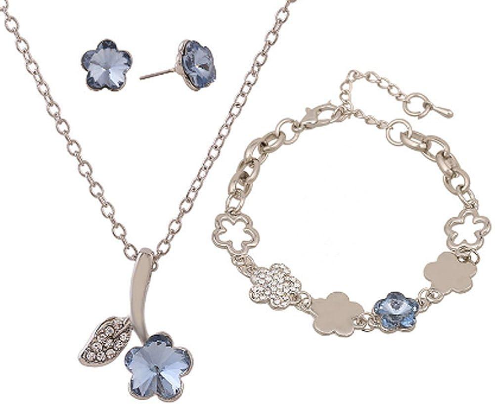 Jewelry Set Newest Trendy Womens//Girls Gold Plated AmaranTeen