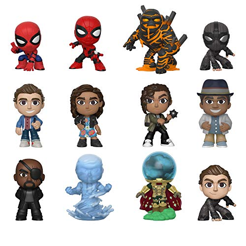 - Funko Mystery Minis: Spider-Man Far from Home (One Mystery Figure)