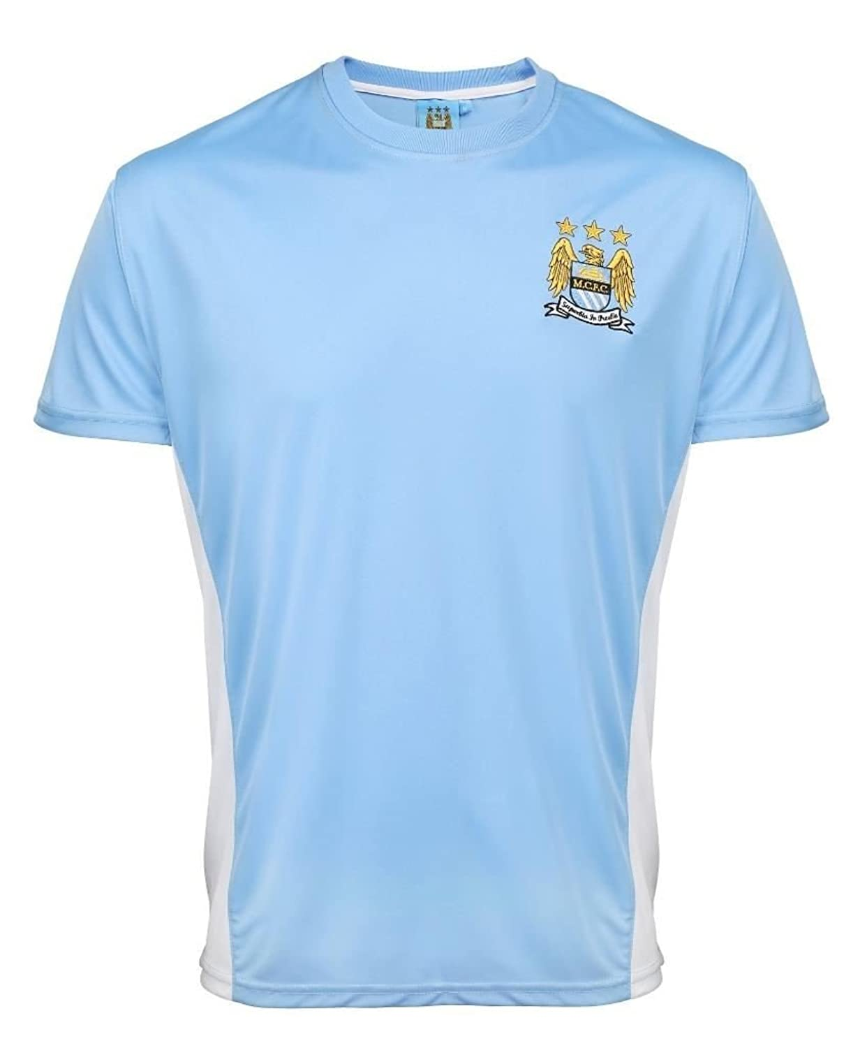 Man CityシャツGirl 's公式2016 / 17 Manchester City Football Shirts f.c Personalisedギフトボックス版 B01MF5SVGDスカイブルー 43258
