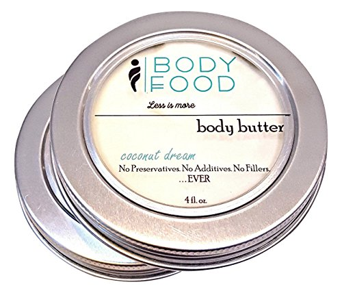 Body Food Coconut Dream Body Butter with Shea and Coconut...