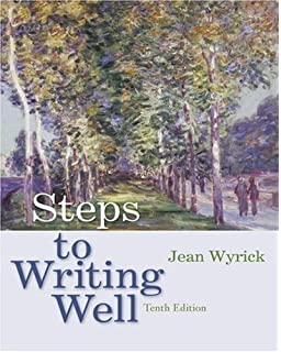 Literature an introduction to reading and writing edgar v roberts steps to writing well 10th edition by wyrick jean 2007 paperback fandeluxe Gallery