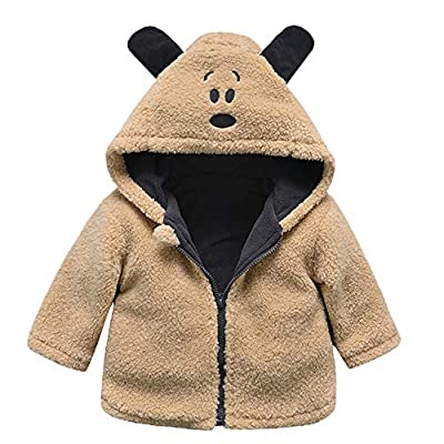 SMALLE ??? Clearance,Baby Infant Girls Boys Autumn Winter Hooded Coat Cloak Jacket Thick Warm Clothes