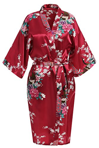 USDisc't Elegant Women's Kimono Robe for Parties...