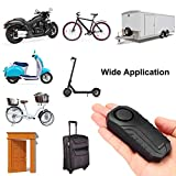 Wsdcam 113dB Anti-Theft Bicycle Motorcycle Alarm