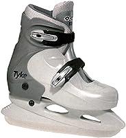 MASKA - CCM U.S. Inc. Molded Extended Youth Recreational Ice Skates - Large, D