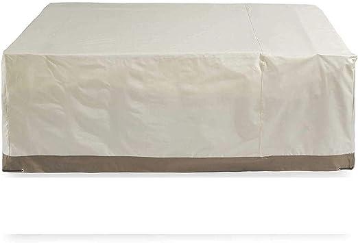ZHDZ HOME Copertura per Tavolo da Esterno Tessuto,Copertura Mobilia Giardino Impermeabile Coperture per Tavoli da Esterno,Usato per Tavolo e Sedia coperture