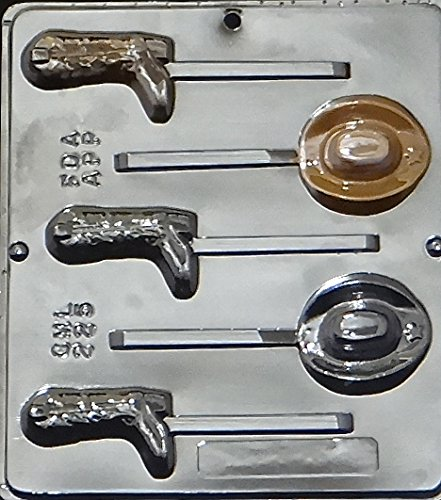 Cowboy Hat and Boot Lollipop Chocolate Candy Mold for $<!--$4.95-->