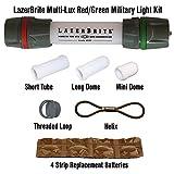 Lazerbrite Multi Lux Red/Green Military Light Kit