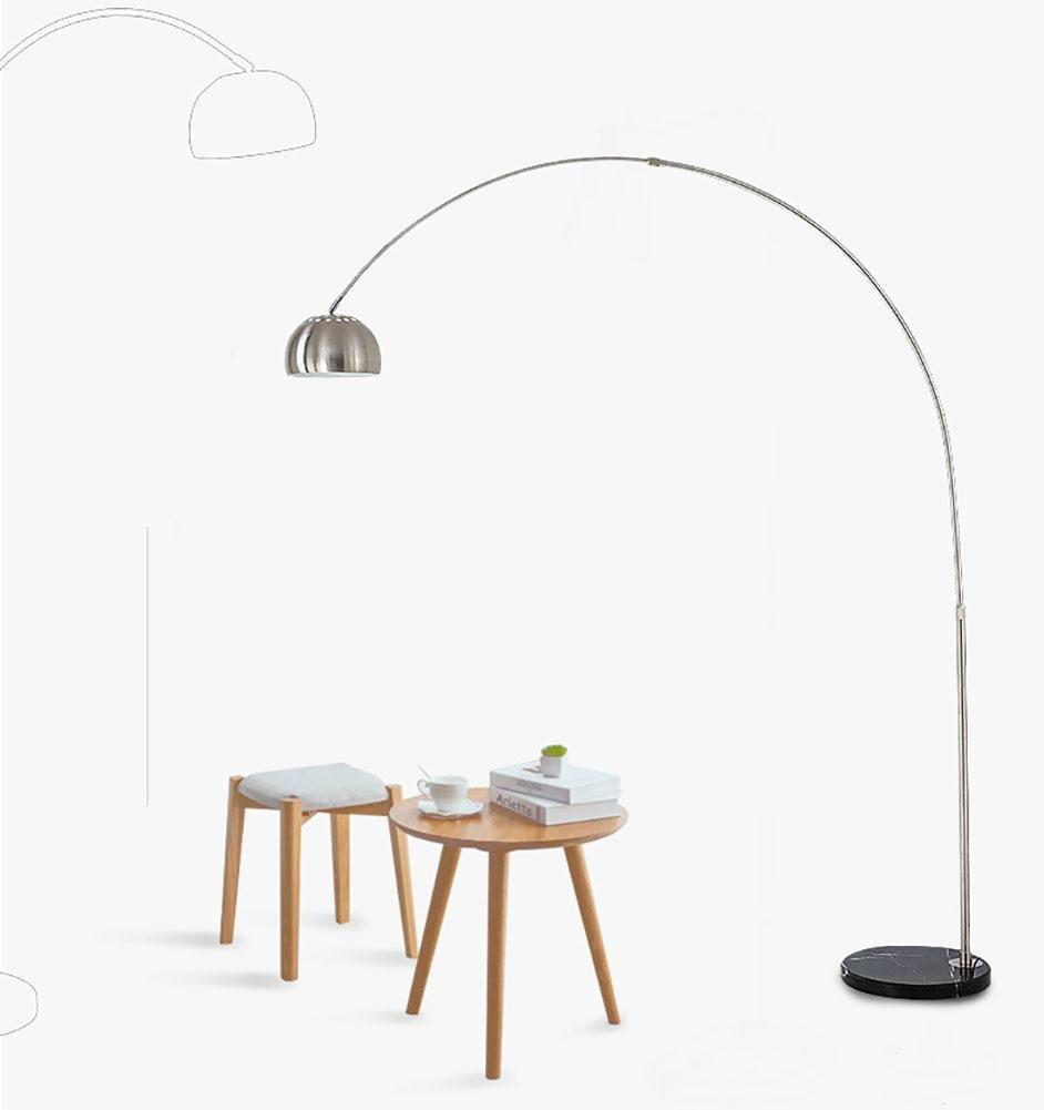 SXJCC Stehlampe Hochhaus Wohnzimmer Schlafzimmer Buch Stehleuchte E27 Augenschutz LED vertikale Marmor Lampe Angeln Lampen Stehleuchte 4 Größen 220V big