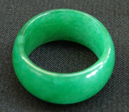- Chinese Jade Rings with Wide Band