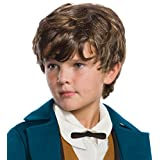Rubies Fantastic Beasts Newt Scamander Brown Child Wig Child One Size