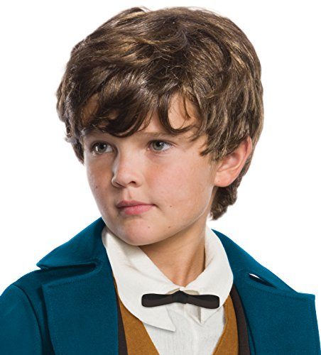 Rubie's Costume Boys Fantastic Beasts & Where to Find Them Newt Scamander Wig Costume, One Size
