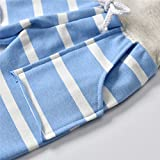 Toddler Infant Baby Boys Girls Stripe Long Sleeve