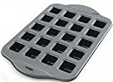 Kitchen, Dining & Bar Nonstick Petite Brownie Pan (20 ct) Bite Size Desserts Hor d'oeuvres
