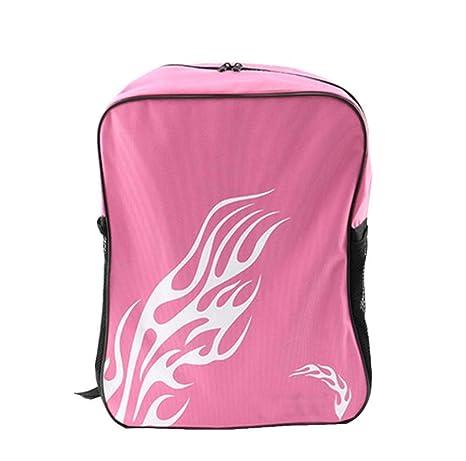 65e97afce9b4 Amazon.com : Roller Skates Portable Backpack Ice Skating Shoes Bag ...