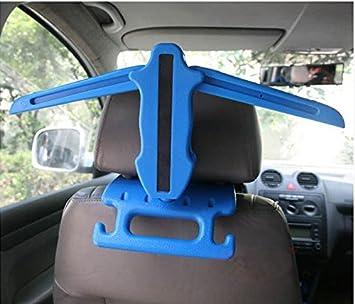 Amazon.com: Asiento de coche perchero percha de ropa ...
