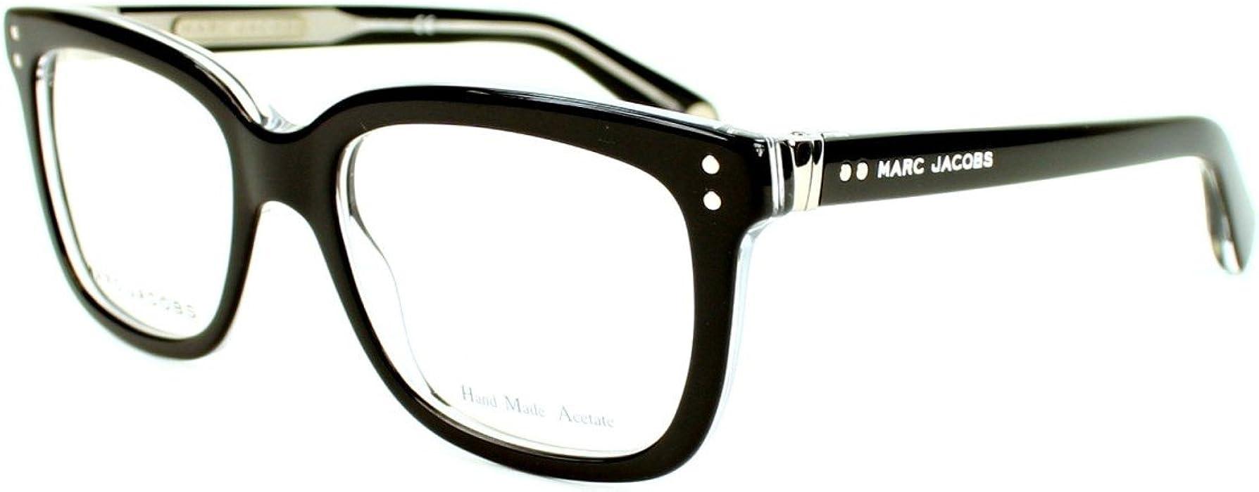 a2e4de2e0eb8 Marc Jacobs frame MJ 451 7C5 Acetate plastic Black crystal: Amazon.co.uk:  Clothing
