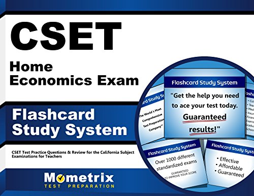 CSET Home Economics Exam Flashcard Study System: CSET Test Practice Questions & Review for the California Subject Examinations for Teachers (Cards)