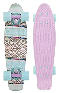 """Penny Graphic Skateboard - Patchwork 22"""""""
