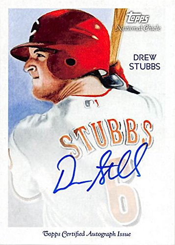 Autograph 190735 Cincinnati Reds 2010 Topps National Chicle Diamond Stars No. Nca-Dst Drew Stubbs Autographed Baseball Card