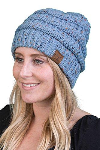 ... Funky Junque CC Confetti Knit Beanie Thick Soft Warm Winter Hat Unisex  ... 8480449b1b86