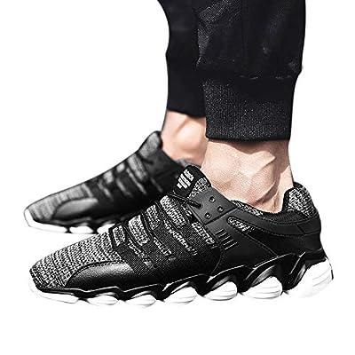 PLENTOP Fashion Sneakers,Men Shoes Fashion Mesh Breathable Casual Shoes Comfortable Adult Shoes Sneaker