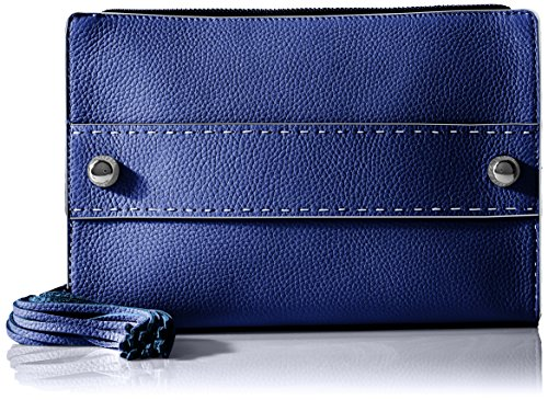 MILLY Astor Tassel Clutch, Navy by MILLY