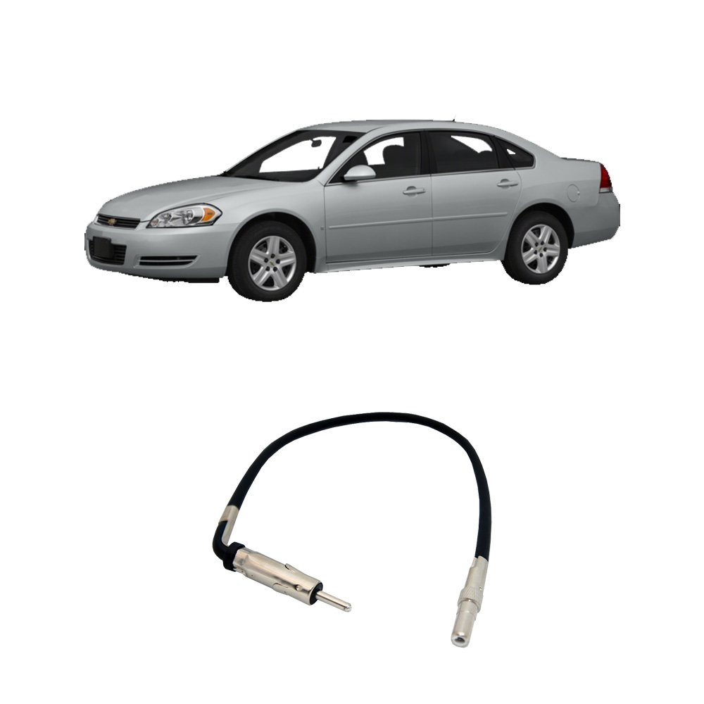 Fits Chevy Impala 2006 2013 Factory Stereo To Install Dash Kit Dodge Ram Pickup 06 Car Radio Wiring Aftermarket Antenna Adapter Plug Electronics
