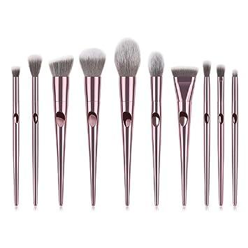 5b9177045625 Amazon.com: Jax & Olivia - Professional Pink Chromance Makeup Brush ...